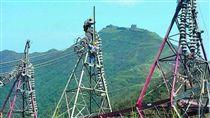 電塔,電力,供電,用電(圖/翻攝自經濟部臉書)