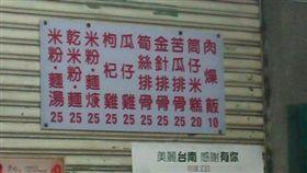 小吃,便宜,物價,肉燥飯,美食,銅版,台南 圖/翻攝自臉書爆廢公社