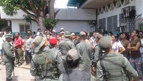 委內瑞拉,監獄,暴動,鎮壓(圖/翻攝自推特)