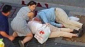 西班牙,巴塞隆納,恐怖攻擊,恐攻  圖/路透社/達志影像