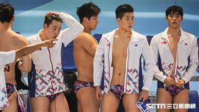 0818世大運水球,中華隊,南韓 圖/記者林敬旻攝