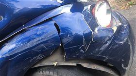 車子停路邊遭三寶撞壞/爆料公社