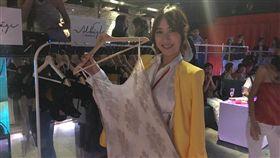 鄭雅勻和姚蜜都是模特兒出身轉戰演藝圈,獨家引進日本內衣品牌Albâge Lingerie和上海唇膏Colorseed Taipeie,聯合派對走秀登場。