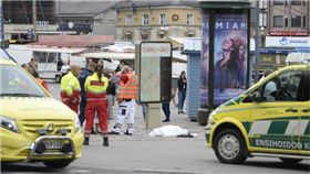 芬蘭,圖爾庫市,Turku,砍人,傷人 圖/翻攝自推特