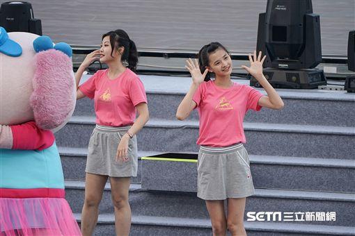 世大運,開幕,統一企業,uni girl junior。記者林敬旻攝影