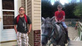 心臟,換心,開學,上學,Peyton West,美國,愛荷華州 圖/翻攝自臉書