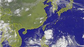 天鴿,颱風,氣象,陸警,海警,中央氣象局 圖/翻攝自中央氣象局