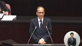林全 圖/翻攝自立法院議事直播