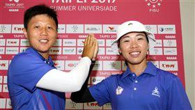 譚雅婷、雷千瑩有望在為台灣奪牌。(圖/世大運執委會提供)