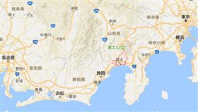 日本靜岡縣富山市 Google map