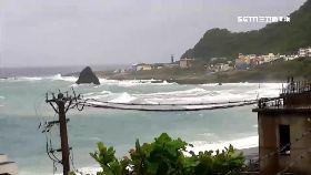 蘭嶼襲大浪0930