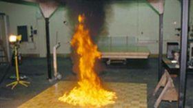 汽油引燃的火焰(圖/翻攝維基百科)