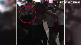 世大運反年改團體毆警墨鏡黑衣男被逮