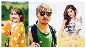 Lulu,黃路梓茵,KID,林柏昇,愷樂(合成圖/資料照、翻攝自KID、愷樂臉書)
