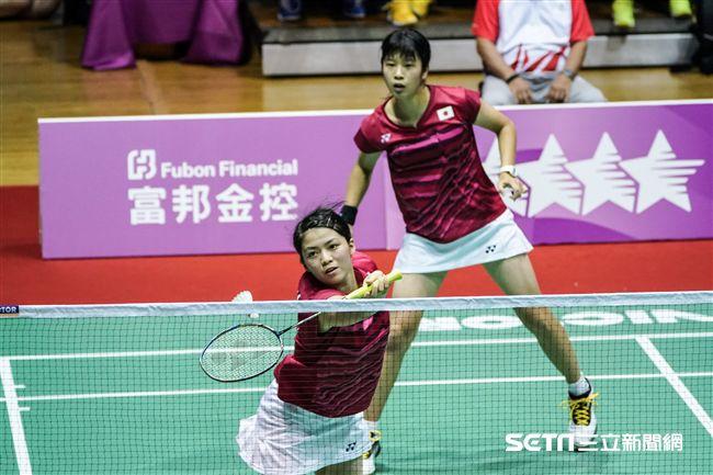 0825世大運羽球團體賽,日本加藤美幸、柏原美紀 圖/記者林敬旻攝