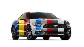 FORD福特潮流車色業配。(圖/福特汽車提供)