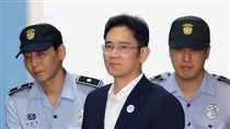 李在鎔一審認定有罪,遭判5年有期徒刑。(圖/路透社/達志影像)