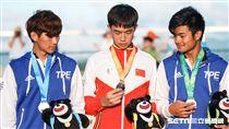 0825世大運速度過樁中國選手潘宇爍 圖/記者林敬旻攝