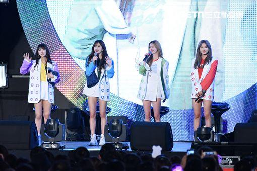 韓國女子團體EXID來台舉辦見面會與台灣粉絲相見