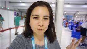 美國跆拳道女選手Samery Moras紀錄世大運/Samery Moras YouTube