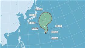 珊瑚,颱風/中央氣象局