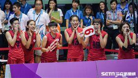 0828世大運女子排球中華隊、烏克蘭 圖/記者林敬旻攝