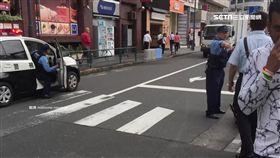 東京池袋當街性侵 中國男子半裸強壓女