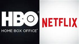 HBO,Netflix(圖/翻攝自臉書)