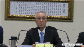 國民黨主席吳敦義。(記者盧素梅攝)