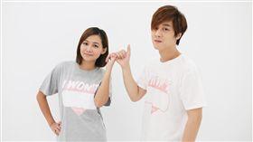 網紅夫妻檔「那對夫妻」的京燁KIM日前創作一首《我不會》歌曲送給老婆NICO品筠。(圖/超人氣娛樂提供)
