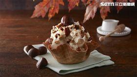 COLD STONE酷聖石楓糖冰淇淋、鬆餅。(圖/COLD STONE提供)