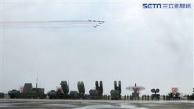 空軍防空暨飛彈指揮部編成各式飛彈。(記者邱榮吉/攝影)