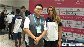 ▲王雲慶是最優秀的國際賽會工作人員。(圖/記者林辰彥攝影)