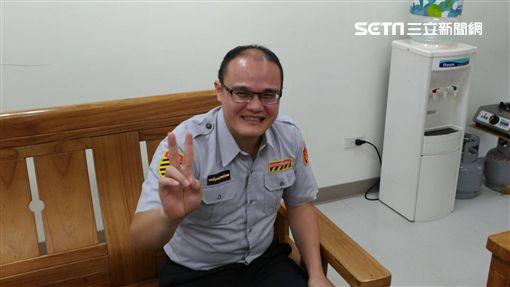 陳昭宏,截肢警,重返崗位