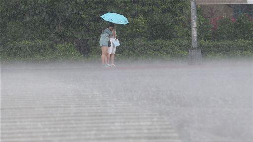 下雨,降雨,陣雨,天氣,氣象,雨天圖/中央社