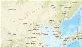 北韓核子試爆地震_美國地質調查所