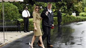 梅蘭妮亞,Melania Trump,川普,圖/美聯社/達志影像