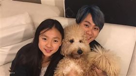 王仁甫,季芹,女兒,兒子/翻攝自王仁甫和季芹之永遠的芹仁臉書
