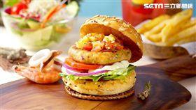 漢堡研究室Burger Lab漢堡。(圖/天成飯店集團提供)