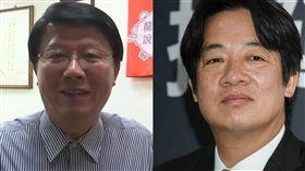 賴清德,謝龍介 組圖/記者林敬旻攝、新聞台