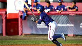 ▲U18台灣青棒隊內野手郭天信連4場雙安以上演出,打擊表現搶眼。(圖/中華棒協提供)