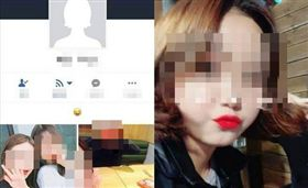 ▲14歲少女被暴打濺血,可憐求饒圖瘋傳,網友氣炸肉搜施虐者臉書、IG帳號。(圖/翻攝自LIHKG討論區)