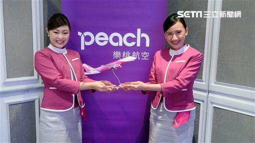 樂桃航空,空姐, Peach Aviation。(圖/記者簡佑庭攝)