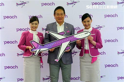 樂桃航空CEO執行長,井上慎一。(圖/記者簡佑庭攝)