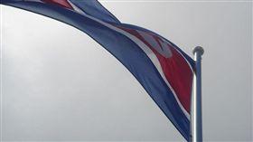 北韓國旗(圖/攝影者dion gillard, Flickr CC License) https://www.flickr.com/photos/28745163@N00/248918054