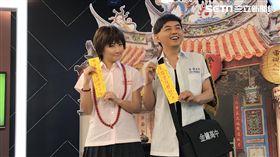 金鐘獎,黃子佼,Selina(圖/記者黃馨慧攝影)