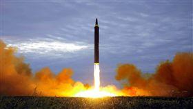 北韓,金正恩,導彈,美國,日本 圖/美聯社/達志影像