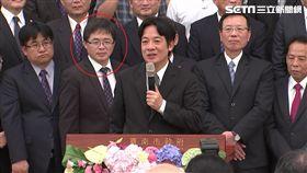 賴清德「向市民報告記者會」、市府秘書長李孟諺、台南代理市長