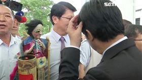 賴清德到台南市議會道別、謝龍介