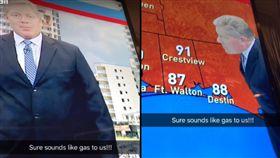 放屁,糗態,氣象主播,播報,出糗,直播,觀眾,電視台,收音,美國 https://www.youtube.com/watch?time_continue=21&v=7P-u9JqV0XQ